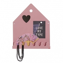 Roommate - Village Magnetic Board Pastel Rose