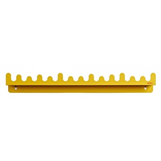Roommate - Hylla - Doodle Drop Picture Shelf Yellow