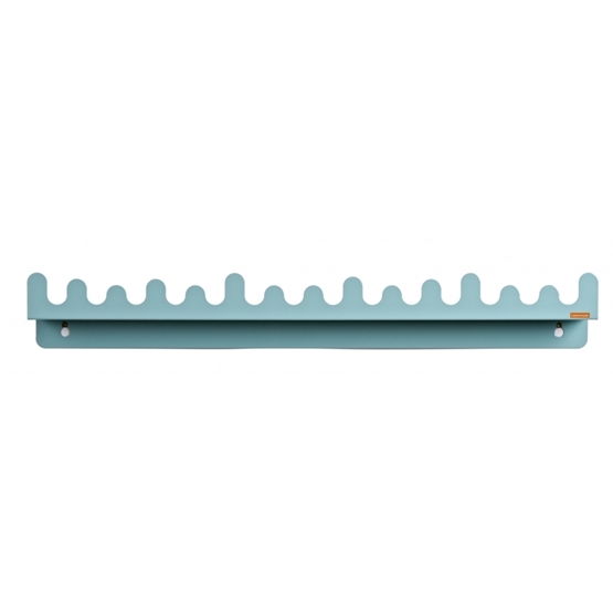 Roommate - Hylla - Doodle Drop Picture Shelf Pastel Blue/Green