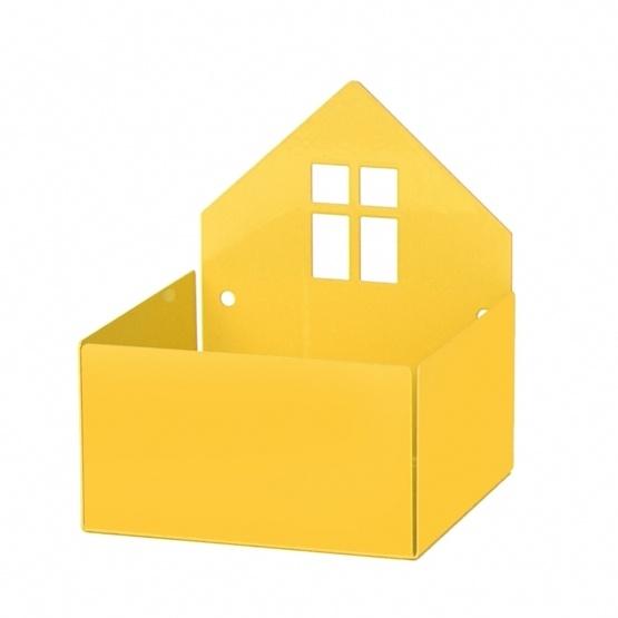Roommate - House Box Yellow