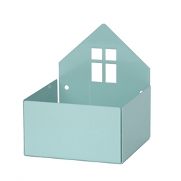 Roommate - House Box Pastel Blue/Green