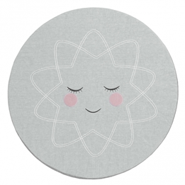 Roommate - Lekmatta - Play Mat Grey