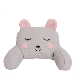Roommate - Pram Pillow - Hugging Bear Grey