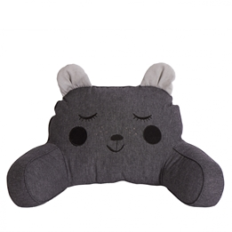 Roommate - Pram Pillow - Hugging Bear Anthracite