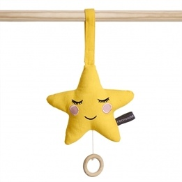 Roommate - Star - Music Mobile Yellow