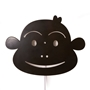 Roommate - Lampa - Monkey Lamp - Black