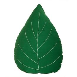 Roommate - Leaf Cushion - Green