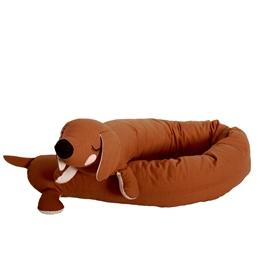 Roommate - Gosedjur - Lazy Long Dog, Brown