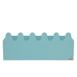 Roommate - Hylla - Sinus Box & Coat rack Pastel Blue/green