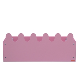 Roommate - Hylla - Sinus Box & Coat rack Pastel rose