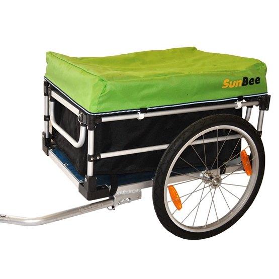 SunBee - Cykelvagn - SunBee Montana Lastvagn - Grön/Svart