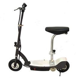 El-scooter 150W Med Sadel - Svart