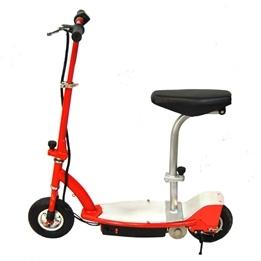 El-scooter 150W Med Sadel - Röd