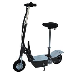 El-scooter 250W Med Sadel - Svart