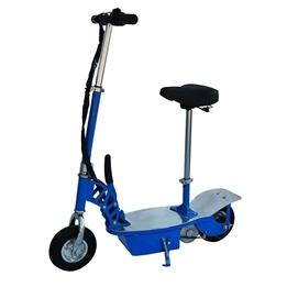 El-scooter 250W Med Sadel - Blå