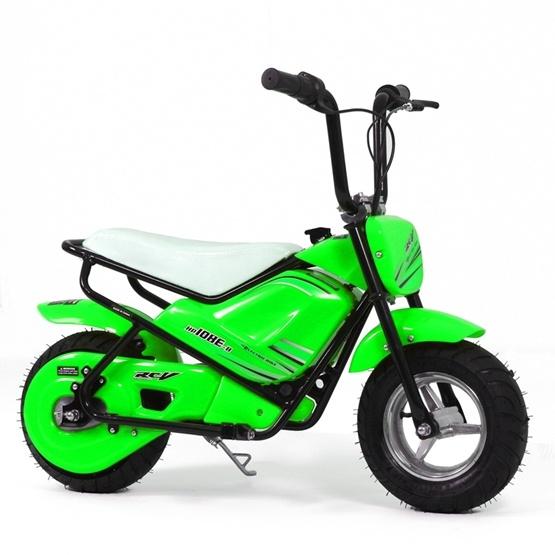 Elscooter 250W Low Rider - Grön