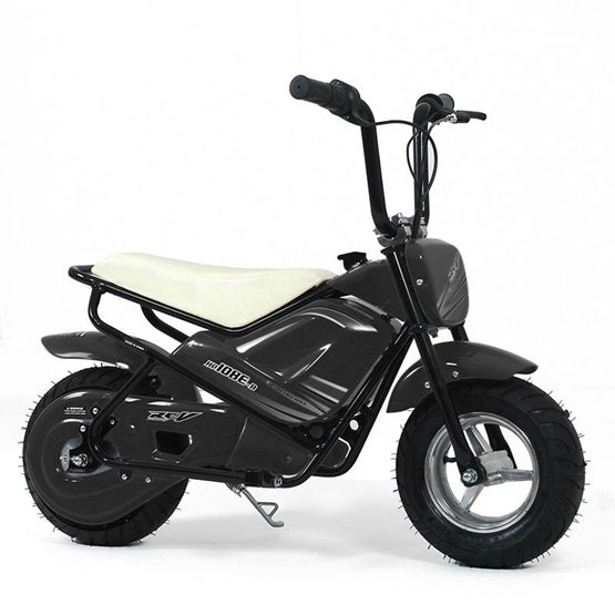 Elscooter 250W Low Rider - Svart