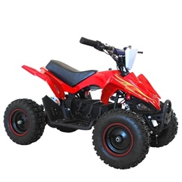 Elbil - ATV Viper II Röd