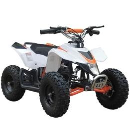 Mini el-ATV 1000W - Vit/Röd