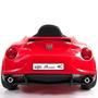 Elbil - Alfa Romeo 4C 12V - Röd