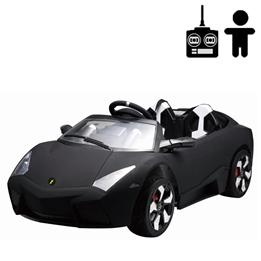 Elbil - Rocket Sport 12V - Mattsvart