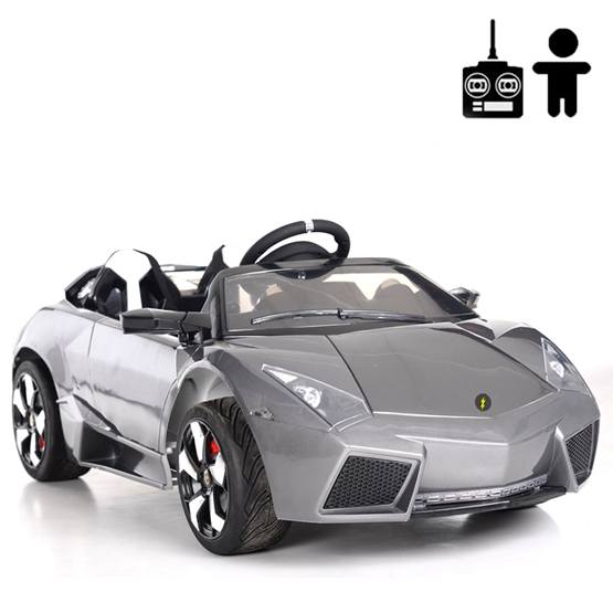 Elbil - Rocket Sport 12V - Gun Metal Grey