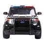 Elbil - Police Force 12V - Svart