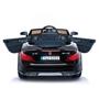 Elbil - Mercedes SL63 svart