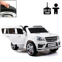 Elbil - Mercedes Gl63 12V - Vit