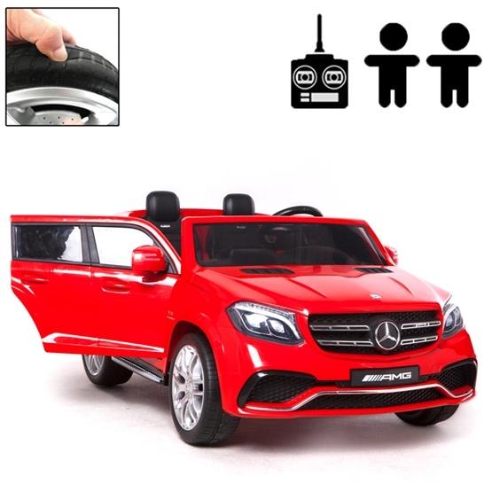 Elbil - Mercedes GLS 4MATIC - Röd