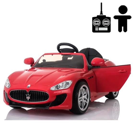 Elbil - Maserati GranTurismo 12V - Röd