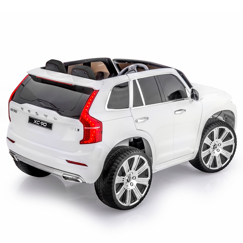 elbil volvo xc90 momentum 12v vit. Black Bedroom Furniture Sets. Home Design Ideas