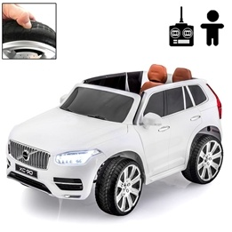 Elbil - Volvo Xc90 Inscription 12V - Crystal White