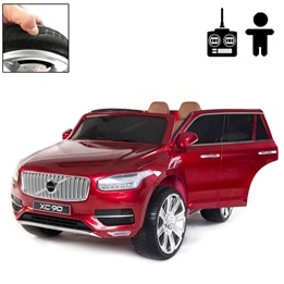 Elbil - Volvo Xc90 Inscription 12V - Solid Passion Red