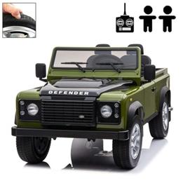 Elbil - Land Rover Defender - Grön