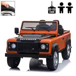 Elbil - Land Rover Defender - Orange