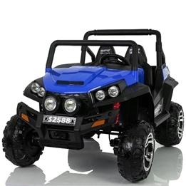Elbil - Quad 4X4 - Svart/Blå