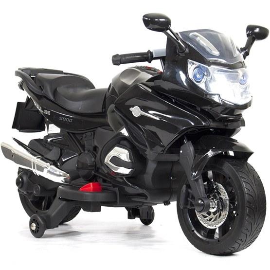 Elbil - Motorcykel Touring 12V - Svart