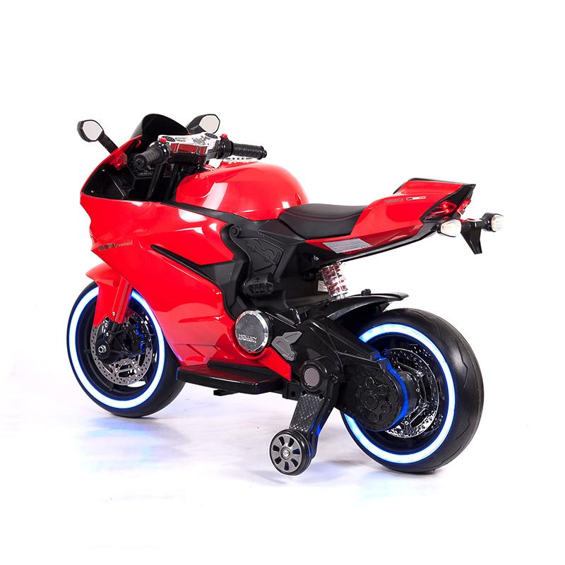 Elbil - Motorcykel Sport R600 12V - Röd