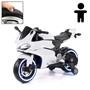 Elbil - Motorcykel Sport R600 12V - Vit
