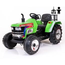 Elbil - Barntraktor Harris 12V - Grön