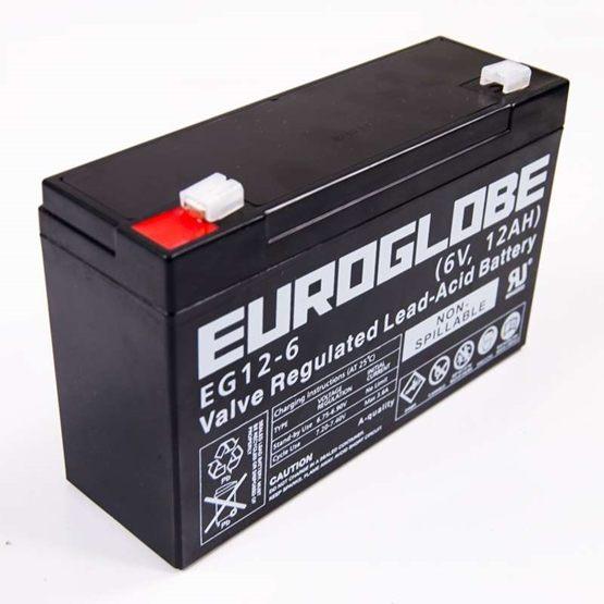 Batteri 6 V 12 Ah