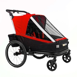 Cykelvagn - SunBee Beetle - Röd