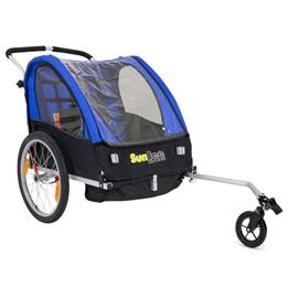 Cykelvagn - SunBee Cruiser - Blå/Svart