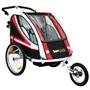 Sunbee - Supreme XL - Ink Strollerkit - Svart/Röd