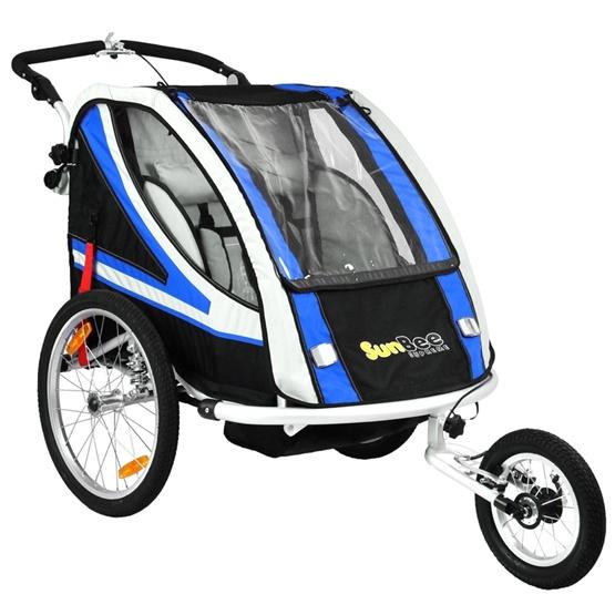 Sunbee - Supreme XL - Ink Strollerkit - Svart/Blå