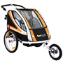 Sunbee - Supreme XL - Ink Strollerkit - Svart/Orange
