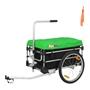 Sunbee - Cykelvagn / Lastvagn -  Montana Plus - Grön/Svart