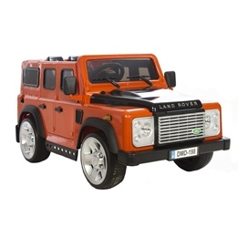Azeno - Elbil - Licens Land Rover Dmd-198 - Orange