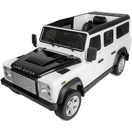 Azeno - Elbil - Licens Land Rover Dmd-198 - Vit